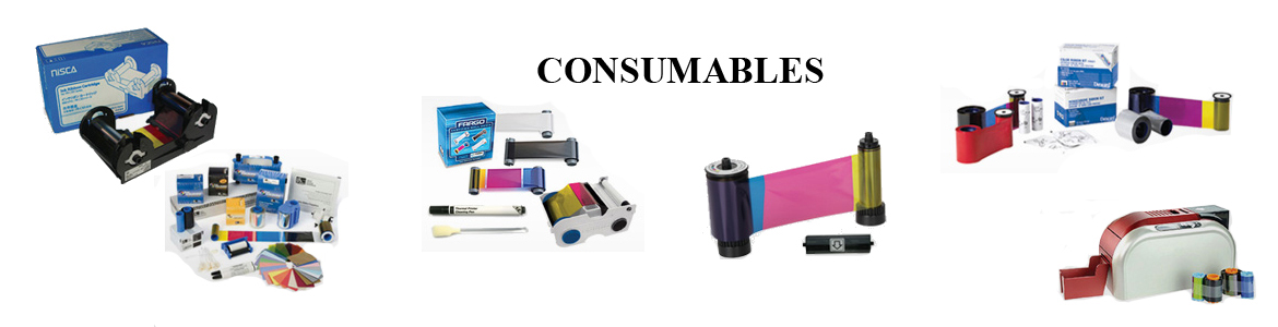 id card printer consumables
